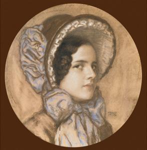 Portrait of Mary by Franz von Stuck