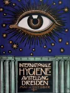 Poster for the 1911 First International Hygiene Exhibition, 1911 by Franz von Stuck