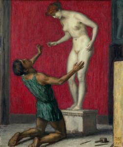 Pygmalion, 1926 by Franz von Stuck