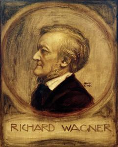 Richard Wagner, Composer, 1902 by Franz von Stuck