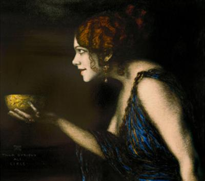 "Role in ""Circe"" by Pedro Calderon de la Barca, 1912/13"