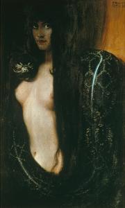 Sin, 1893 by Franz von Stuck