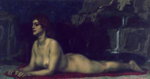 Sphinx, 1904 by Franz von Stuck