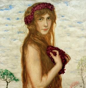 Spring 2, 1912 by Franz von Stuck