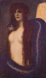 The Sin by Franz von Stuck