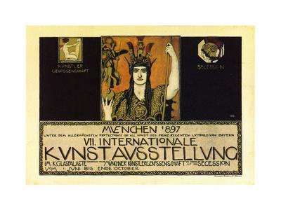 Vii International Kunstausstellung; International Art Exhibition In Munich