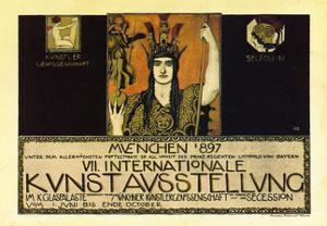 Vii International Kunstausstellung; International Art Exhibition In Munich by Franz von Stuck