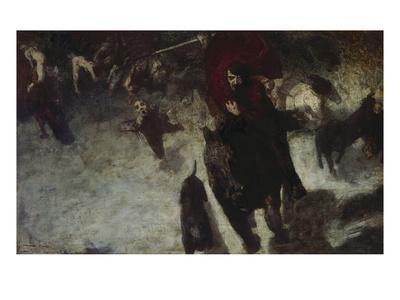 Wild Hunt, about 1889