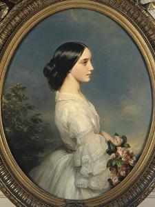Carmen-Ida Aguado (1847-1880) by Franz Xaver Winterhalter