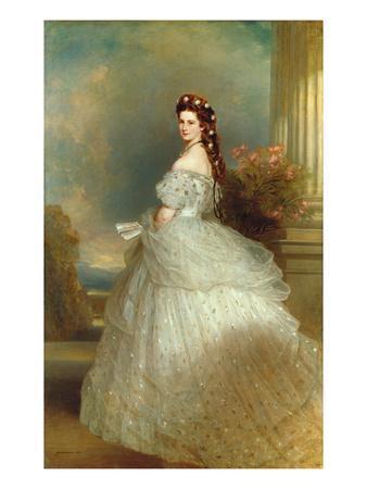 Empress Elizabeth of Austria (Sissi), 1865