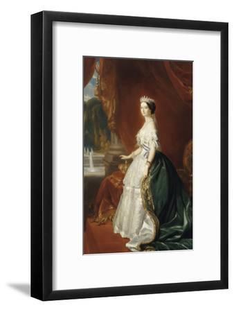 Eugénie de Montijo de Guzman (1826-1920), impératrice des Français - portrait officiel en 1853