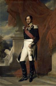 Le duc de Saxe-Cobourg Gotha, Léopold Ier Roi des belges en 1831 représenté by Franz Xaver Winterhalter