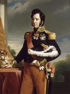 Louis-Philippe, roi des Français (copie d'après le portrait de Winterhalter) by Franz Xaver Winterhalter