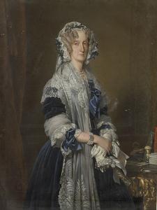 Marie-Amélie de Bourbon by Franz Xaver Winterhalter