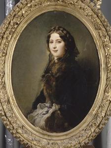 Portrait de la comtesse Lise Przezdziecka by Franz Xaver Winterhalter