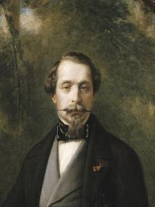 Portrait de Napoléon III en costume anglais by Franz Xaver Winterhalter