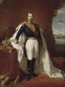 Portrait en pied de Napoléon III by Franz Xaver Winterhalter
