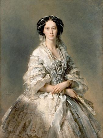 Portrait of Maria Alexandrovna, 1857