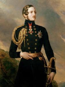 Prince Albert, the Prince Consort (1819-61) by Franz Xaver Winterhalter