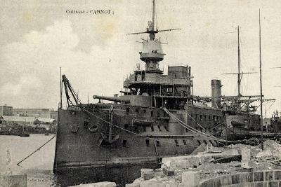 Französisches Kriegsschiff, Cuirassé Carnot--Giclee Print