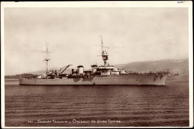Französisches Kriegsschiff Duguay Trouain, Croiseur--Giclee Print