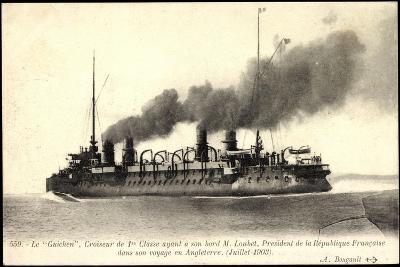 Französisches Kriegsschiff Guichen, Croiseur--Giclee Print