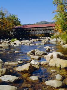 Albany Covered Bridge, Swift River, Kangamagus Highway, New Hampshire, USA by Fraser Hall