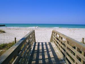 Bradenton Beach, Anna Maria Island, Gulf Coast, Florida, USA by Fraser Hall