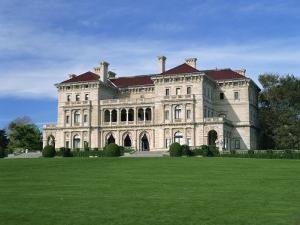 Breakers, Built in 1895 for Cornelius Vanderbilt, Newport, Rhode Island, New England, USA by Fraser Hall