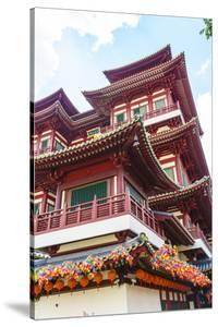 Buddha Tooth Relic Temple, Chinatown, Singapore, Southeast Asia, Asia by Fraser Hall