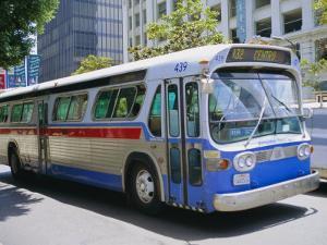 Bus, Downtown San Diego, California, USA by Fraser Hall