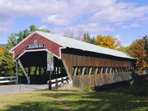 Covered Bridge, Jackson, New Hampshire, USA by Fraser Hall