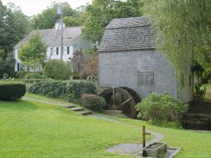 Dexter's Grist Mill, Built in 1654 Restored 1961, Sandwich, Cape Cod, Massachusetts, USA by Fraser Hall