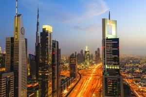 Dubai Cityscape by Fraser Hall