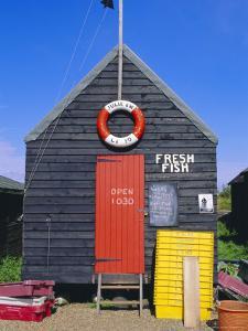 Fisherman's Hut, Southwold, Suffolk, England, UK by Fraser Hall