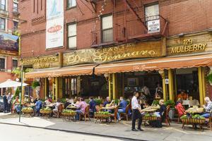 Italian restaurant in Little Italy, Manhattan, New York City, United States of America, North Ameri by Fraser Hall