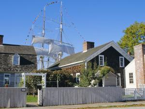 Living Maritime Museum, Mystic Seaport, Connecticut, USA by Fraser Hall