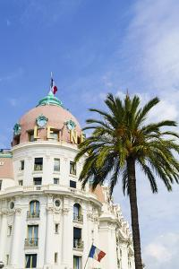 Negresco Hotel, Nice, Alpes Maritimes, Cote d'Azur, Provence, France, Europe by Fraser Hall
