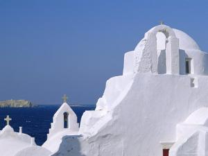Paraportiani Church in the Alefkandra District of the Old Town, Mykonos, Cyclades Islands, Greece by Fraser Hall