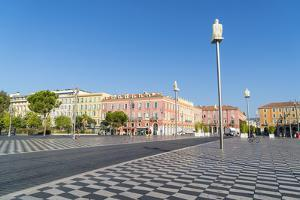 Place Messina, Nice, Alpes Maritimes, Cote d'Azur, Provence, France, Mediterranean, Europe by Fraser Hall