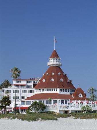 San Diego's Most Famous Building, Hotel Del Coronado Dating from 1888, San Diego, California, USA by Fraser Hall