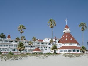 San Diego's Most Famous Building, Hotel Del Coronado Dating from 1888, San Diego, USA by Fraser Hall