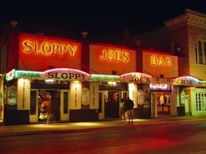 Sloppy Joe's Bar, Duval Street, Key West, Florida, USA by Fraser Hall