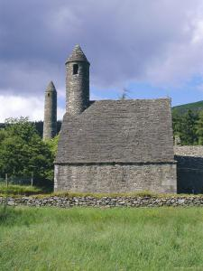 St. Kevin's Church, Glendalough, County Wicklow, Ireland by Fraser Hall