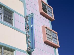 Starlite Hotel, Ocean Drive, Art Deco District, Miami Beach, South Beach, Miami, Florida, USA by Fraser Hall
