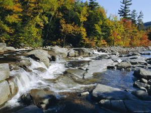 Swift River, Kangamagus Highway, New Hampshire, USA by Fraser Hall