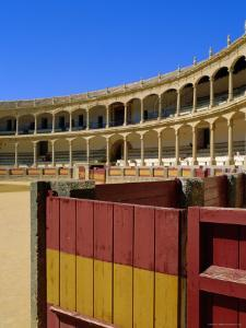 The Plaza De Toros Dating from 1784, the Oldest Bullring in the Country, Ronda, Andalucia, Spain by Fraser Hall
