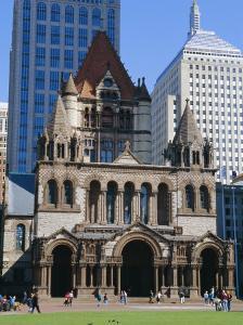 Trinity Church 1877, Copley Square, Boston, Massachusetts, USA by Fraser Hall