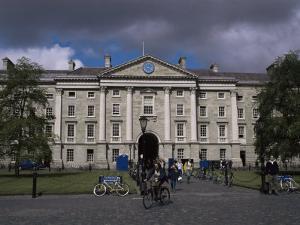 Trinity College, Dublin, Eire (Republic of Ireland) by Fraser Hall
