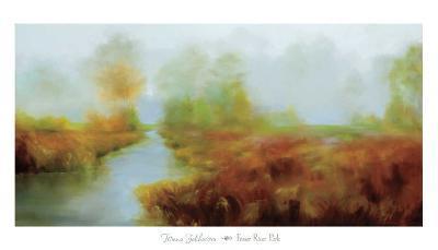 Fraser River Park-Tetiana Zakharova-Art Print